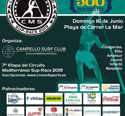 Día 16 de junio – VII Sup Race Playas del Campello