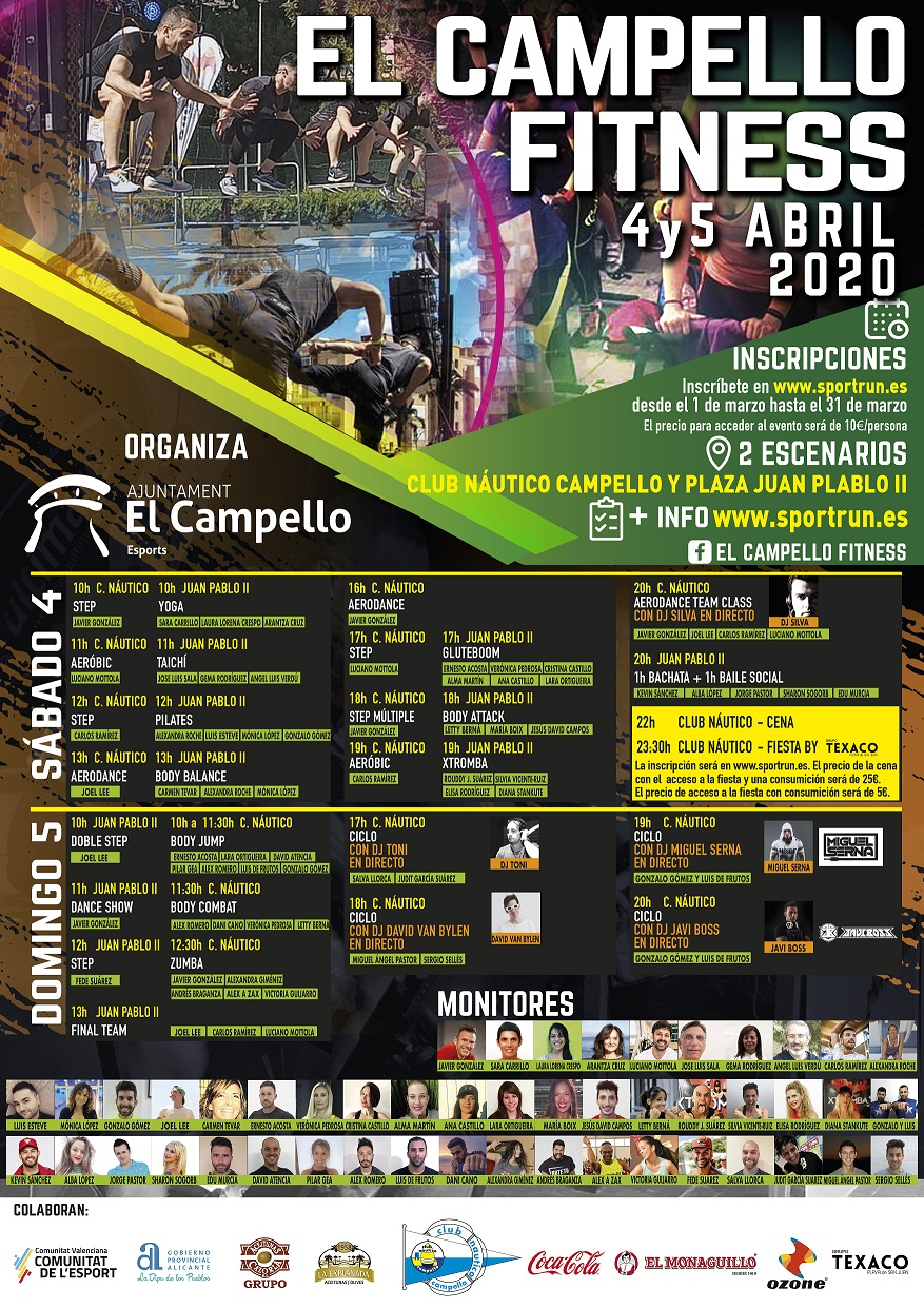 EL CAMPELLO FITNESS 4 Y 5 DE ABRIL